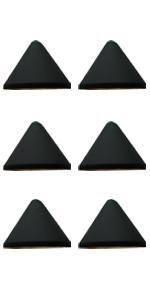 GKOLED Low Voltage Trigonal Conical LED Deck Lights(6-Pack)