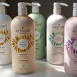 Attitude nautral care - Eco refill - Super leaves Shampoo and conditioner