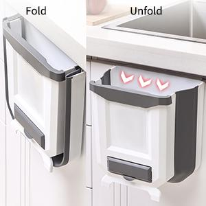 kitchen foldable garbage can