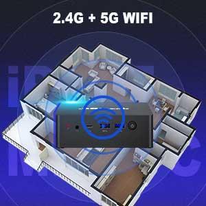 iPC45 Mini PC 2.4G+5G WIFI