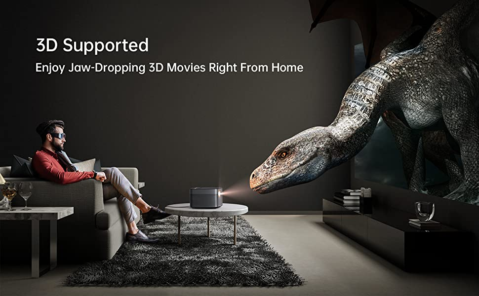 projector 4k for home theater projector