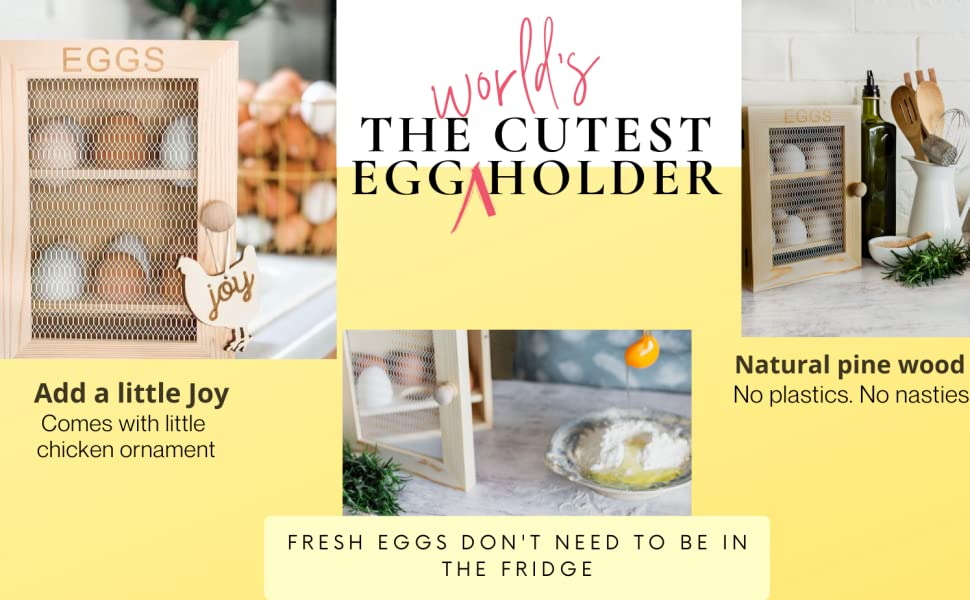 Fresh eggs don't need to be in the fridge