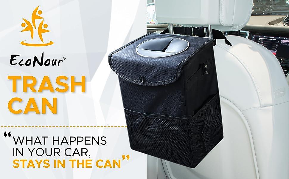 trash can with lid trash bag garbage can trash bin trash bag holder car trash bag hanging garbage