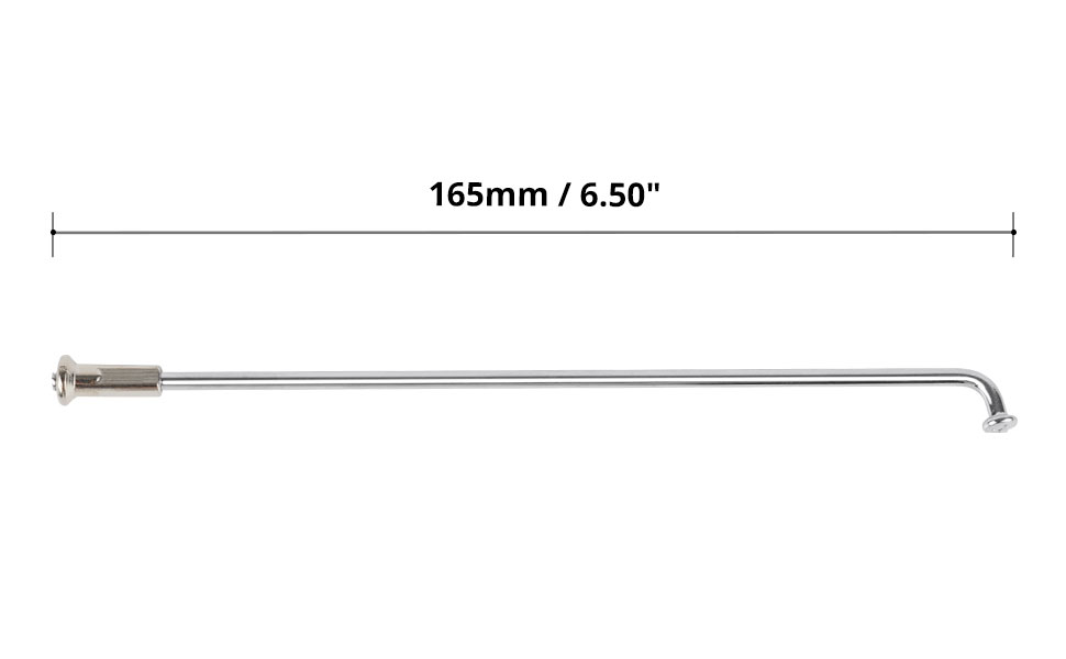 The Size of Front Wheel Spokes Set