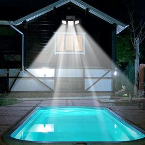 solar lights outdoor wireless