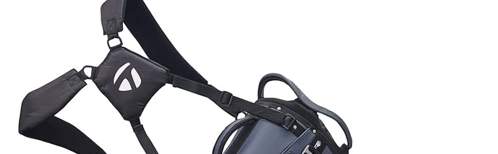 Taylormade Bag 8.0 Adjustable Straps Golf Course Light Weight Easy Carry Walking Waterproof