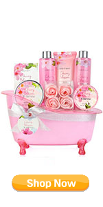 Cherry Blossom & Jasmine Bath Set for Women