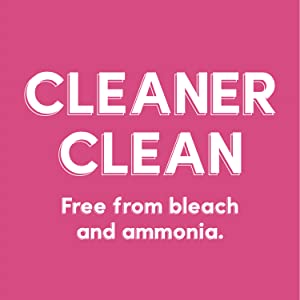Cleaner Clean, free from bleach and ammonia