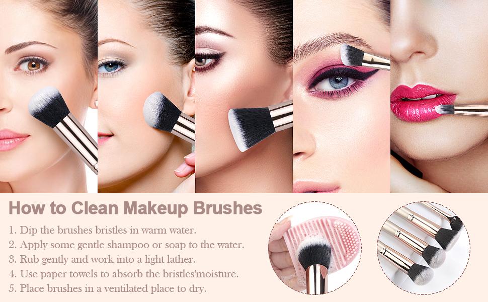 make up brush travelling travel face makeup brushes foundation brushes makeup brush sets & kits
