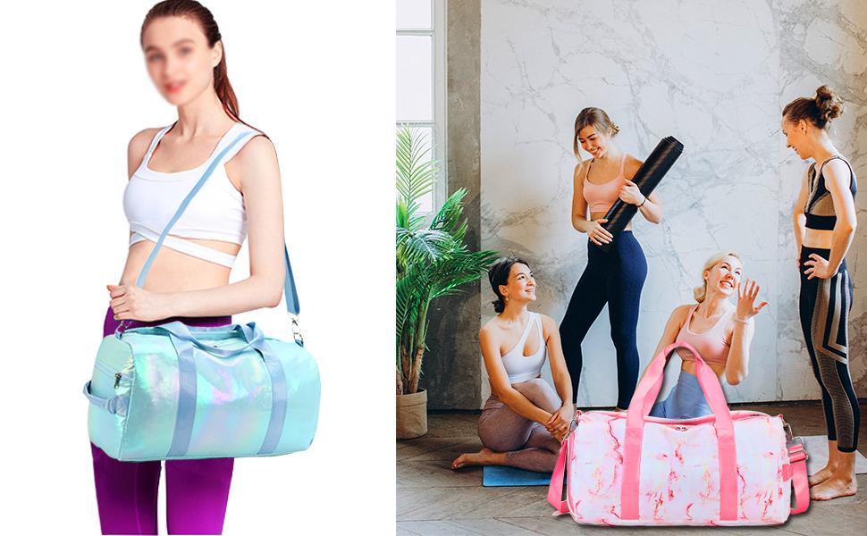 STRESS-FREE Gym Bag Sports Duffle Bag
