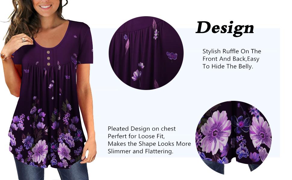 Unique Design For Women Sexy Tunic Tops