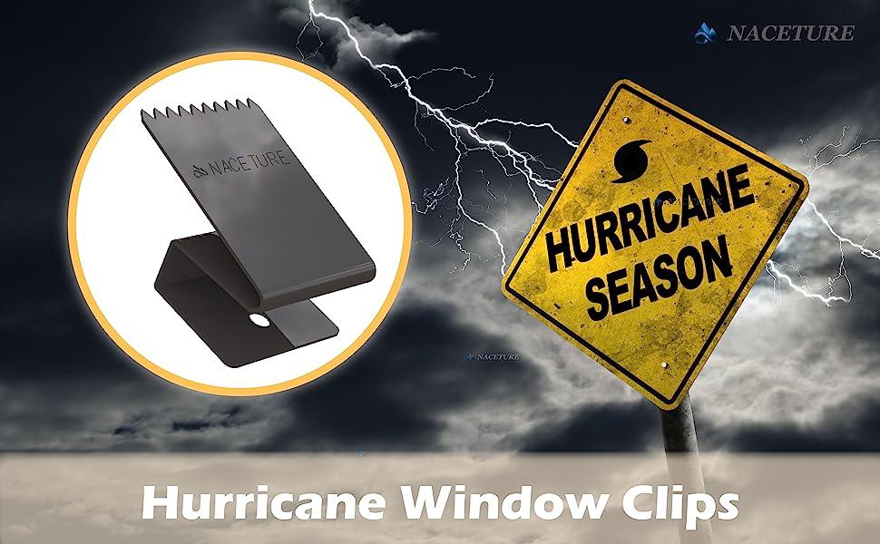 Hurricane Window Clips