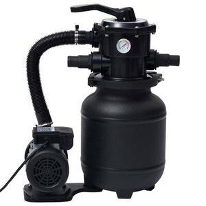 vidaXL Pompe de filtration à sable avec vanne à 7 positions 18 L