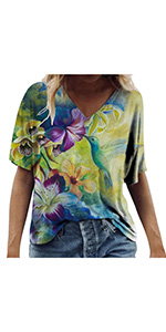 Butterfly Printed Loose Blouses(S-3XL)
