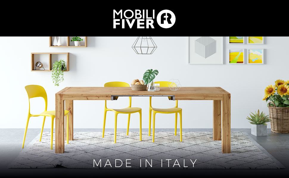 Mobili Fiver - Table extensible Iacopo