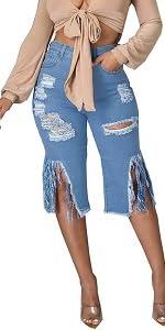 Denin Shorts For Women