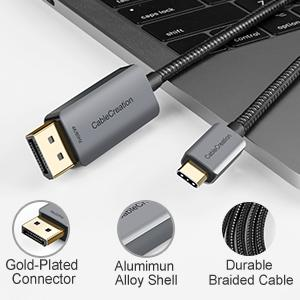 USB C to DP Cable