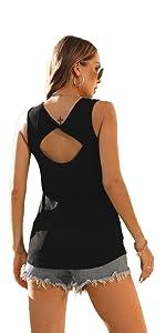Womenamp;amp;#39;s Summer Sleeveless T-Shirt
