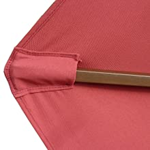 formosa covers replacement umbrella canopy ribs pockets outdoor polyester fabric backyard deck patio