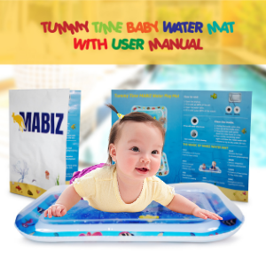 ENCOURAGE BABY DEVELOPMENT WITH TUMMY TIME WATER MAT