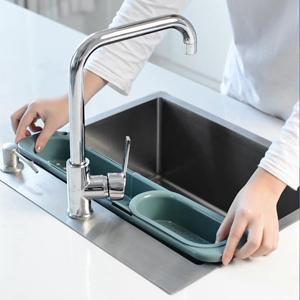 kitchen sink organizer rack expandable