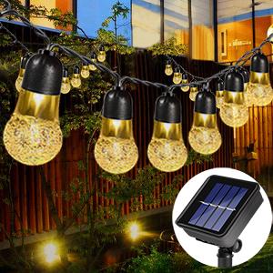 garden lights solar ornaments