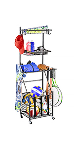 4-Tier Ball Storage Rack