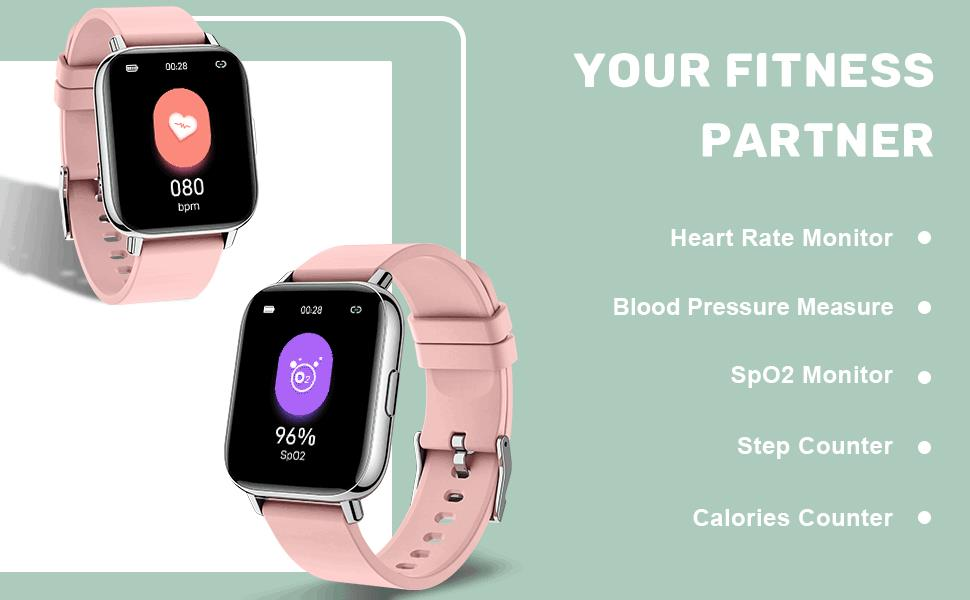 blood pressure watch, your fitness partner