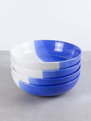 ModestHive Pasta Bowls, Salad Bowls, Ombre Bowls, Oia Bowls, Pasta Bowls, Ceramic Bowls