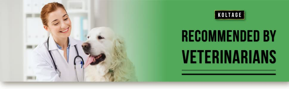 Recommended by veterinarians