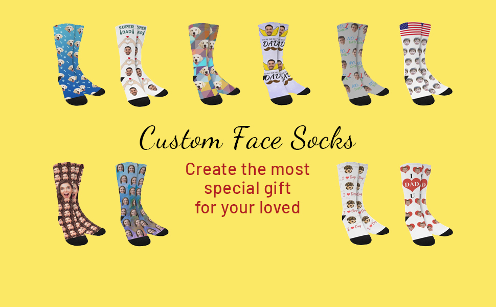 This sock is suitable for couple, parents, pet owners, wedding ceremonies.