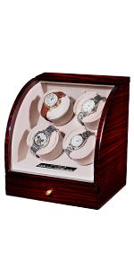 watch winder for 4 automatic watches 4 motors 4 slots