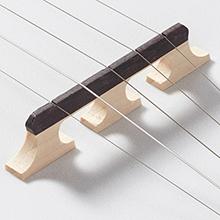 Ashthorpe five string banjo, white remo head, five eighths inch maple and ebony bridge