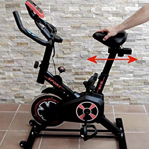 bicicleta de spinning grande, bicicleta estantica grande, bicicleta estatica barata