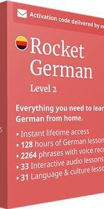 Rocket German Level Two Box