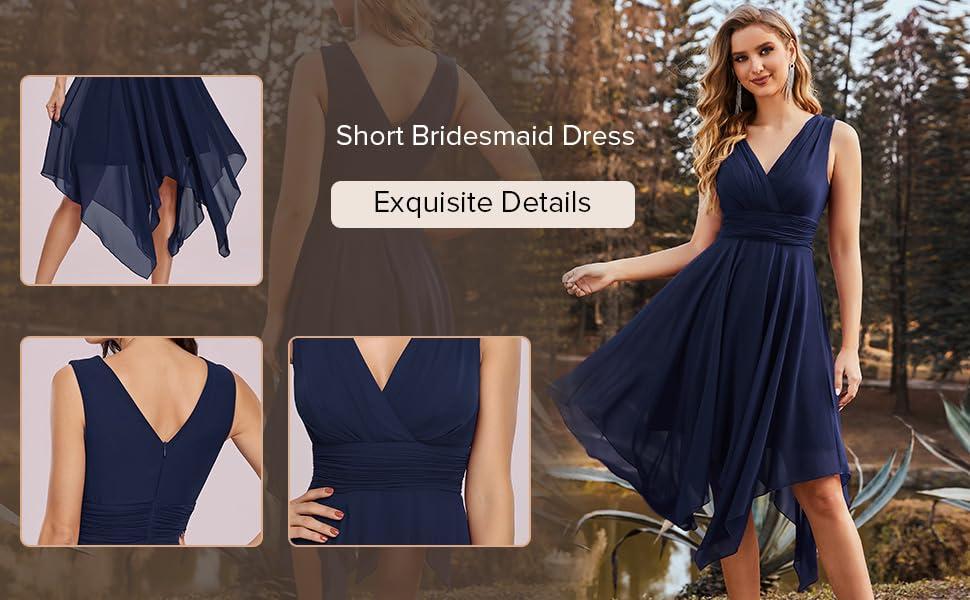 Ever-Pretty womens short bridesmaid dresses formal dresses cocktail dresses wedding guest dress