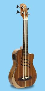 Electric Bass Ukulele