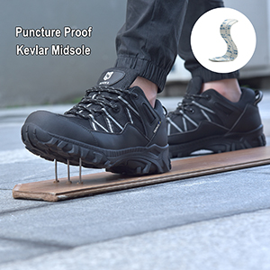 puncture proof kevlar midsole