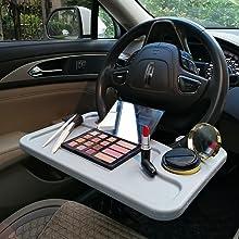 car steering wheel tray