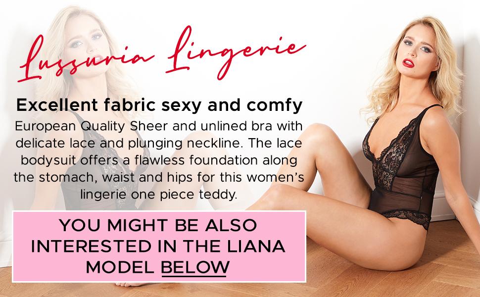 Teddy Lingerie for Women - By Lussuria Underwear
