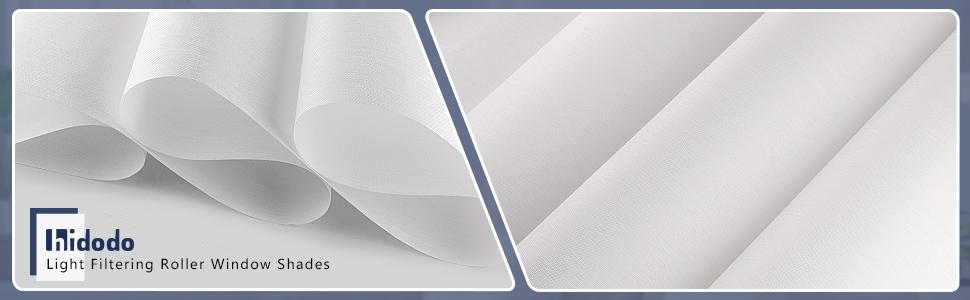 Light Filtering Screen Shades for Windows