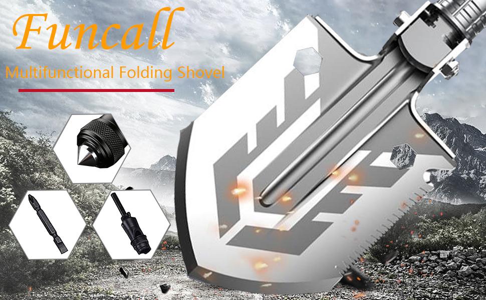 Multifunctional Folding Shovel Military folding shovel
