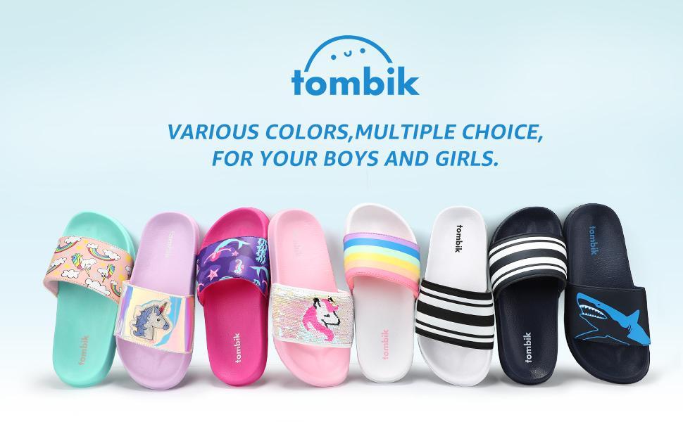 tombik Girls Slides Sandals