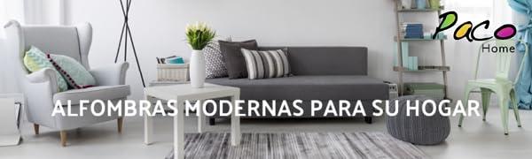 Paco Home Alfombras modernas para su hogar