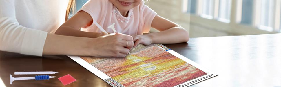 5d diamond painting for adults and kids