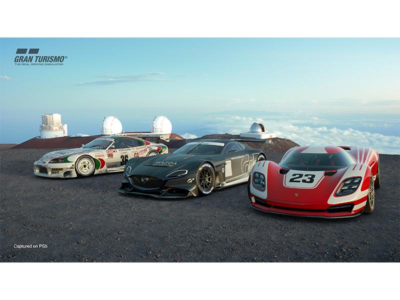 Screenshot of three-pack cars