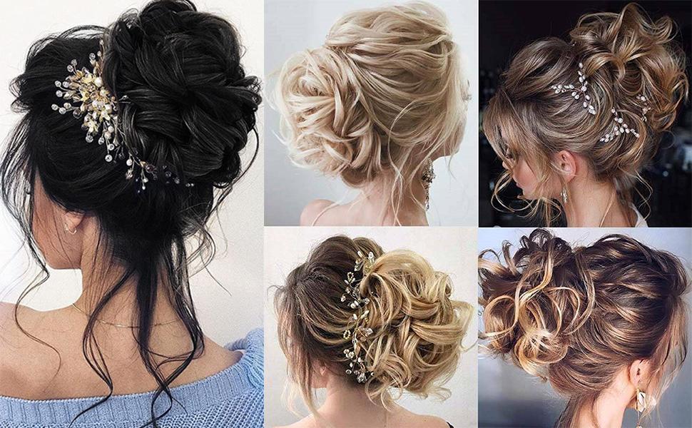 messy bun hair piece hair bun fake hair messy bun scrunchie hair scrunchies for women