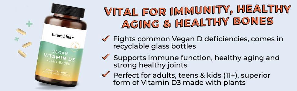 Plant-Based Vitamin D3 Supplement