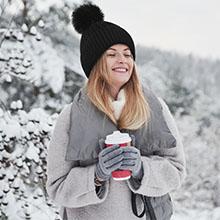 pompom beanie for women crochet winter hat for women women tops pom poms