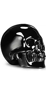 Black Obsidian Skull